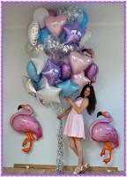 Нежный набор шаров для любимой!