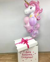 Коробка сюрприз «единорожка»