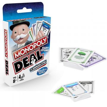 Карточная игра Monopoly deal, 8+