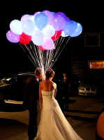 Светящиеся шары 30см с мигающей разноцветной подсветкой