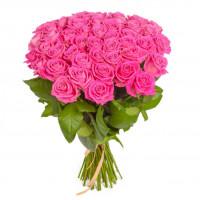 51 розовая роза