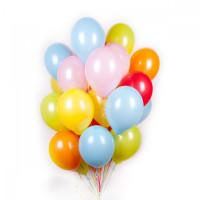 Разноцветные шарики пастель