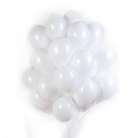 Белые матовые шары