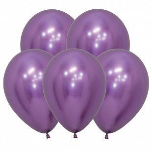 Хром Фиолетовый, (Зеркальные шары) / Reflex Violet