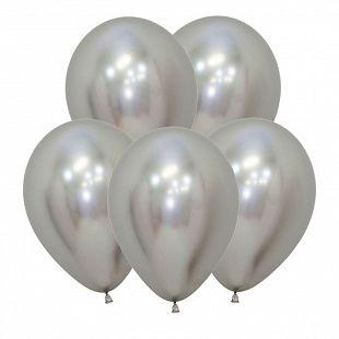 Хром Серебро, (Зеркальные шары) / Reflex Silver