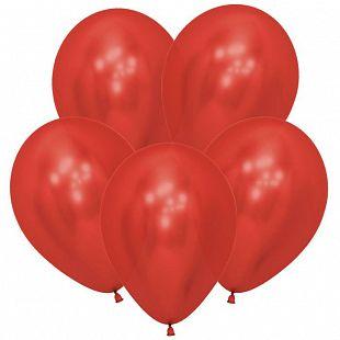 Хром Красный (Зеркальные шары) / Reflex Red