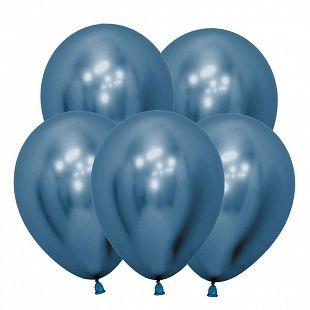 Хром Синий, (Зеркальные шары) / Reflex Blue