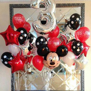 День рождения в стиле Микки Маус