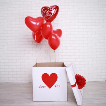 Коробка сюрприз I love you