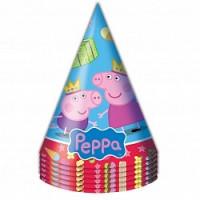 Колпаки, Пеппа-принцесса, 6 шт
