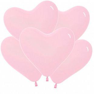 Сердце Розовый, Пастель / Bubble Gum Pink