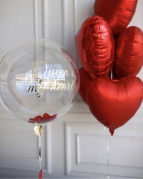 Набор шаров «королева моего сердца»