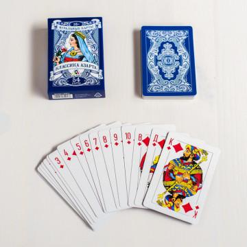 Игральные карты классика азарта