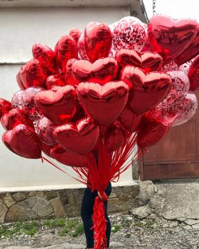 Связка шаров Любовь