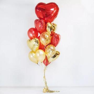 Набор шаров Golden love