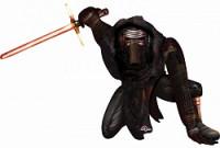 Шар (44''/112 см) Ходячая Фигура, Звездные войны 7 Кайло Рен, 1 шт.