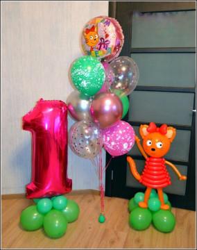Набор шаров «день рождения с карамелькой»