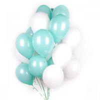 Берюзовые и белые шары