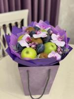 Корзинка нежность орхидеи