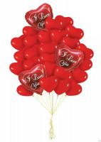 Набор шаров пламенная любовь
