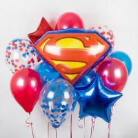Набор шаров «супермен»