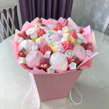 Букет «нежные сладости»