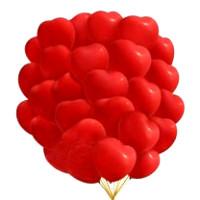 Сердце 40см красное