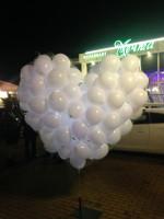 Светящиеся сердце на свадьбу в Сочи