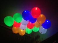 """Шарики (12"""" 30см.) С подсветкой"""