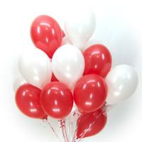 Красно-белые шары