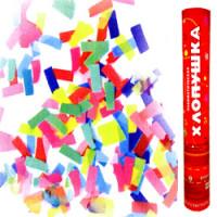 Пневматическая хлопушка 40см бумажное конфетти
