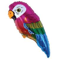 Шар (29''74 см) Фигура, Попугай, 1 шт.