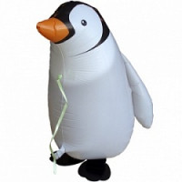 Шар (24'' 61 см) Ходячая Фигура, Пингвин, 1 шт.