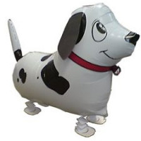 Шар (24'' 61 см) Ходячая Фигура, Собака далматин, 1 шт.