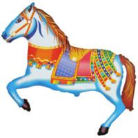 Шар (36''91 см) Фигура, Лошадь цирковая, 1 шт.