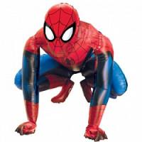 Шар (37'' 94 см) Ходячая Фигура, Человек-паук, 1 шт.