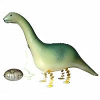 Шар (46''117 см) Ходячая Фигура, Динозавр с яйцом, 1 шт.
