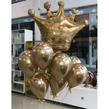 Шарики с короной